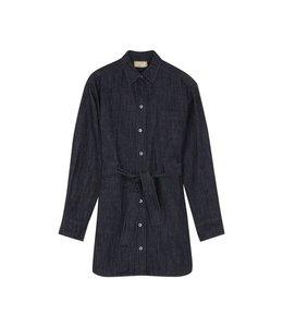 Maison Kitsune Kitsune Denim Lena Shirt Dress