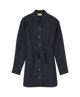 Maison Kitsune Kitsune Denim Lena Shirt Dress