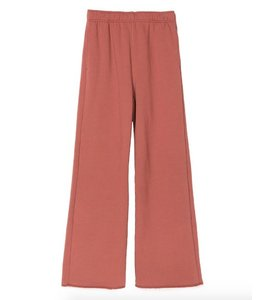 Stussy Stussy Hours Wide Leg Sweatpant Rust