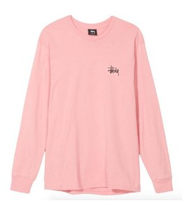 Stussy Stussy Basic LS Tee Dusty Rose