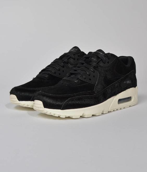 Nike Nike W Air Max 90 LX Ponyhair Black