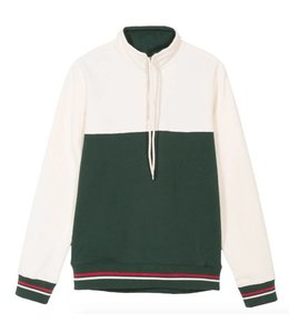 Stussy Stussy Drawcord Mock Neck Green