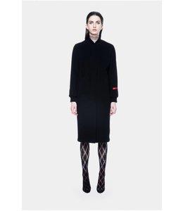 Neige Tees Neige Wool Rope Coat Black