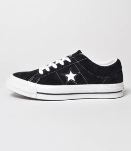Converse Converse One Star Ox Black White Suede