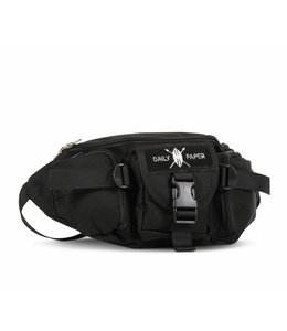 Daily Paper Multipocket Waistbag Black