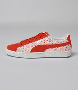 Puma Hello Kitty X Puma Suede Bright Red