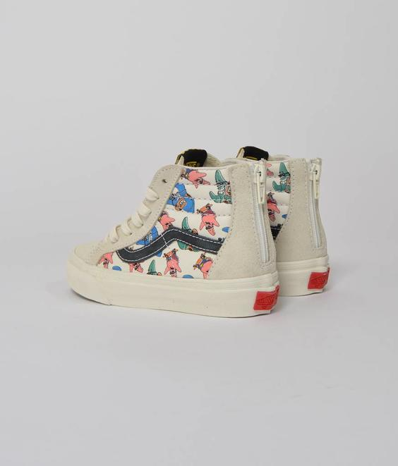 Vans Vans Kids Sk8-Hi Zip LX Patrick Red Black