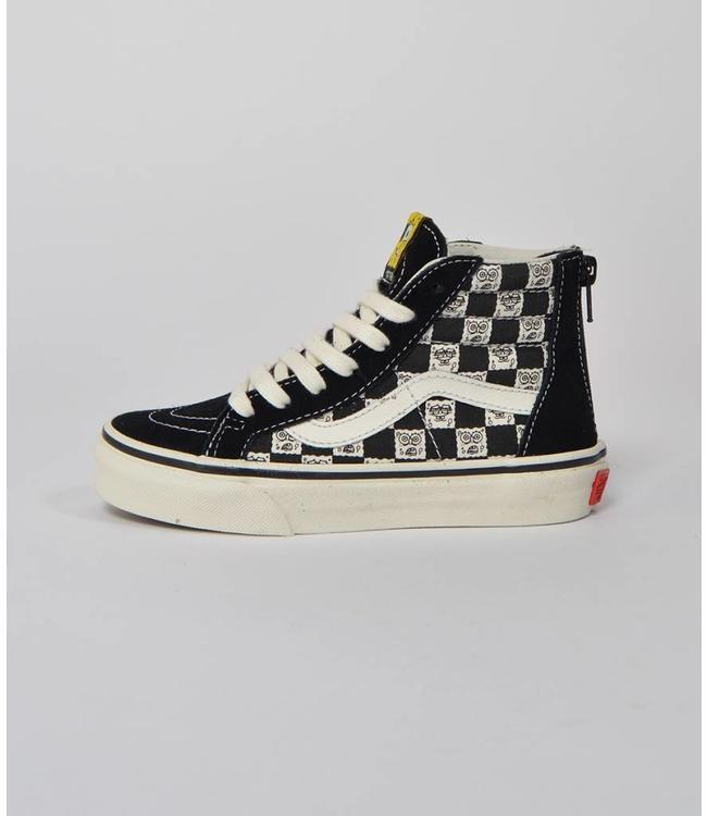Vans Vans Kids Sk8-Hi Zip LX Spongebob Checkerboard