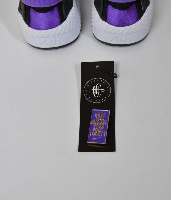 Nike Nike Huarache Run QS White/Purple
