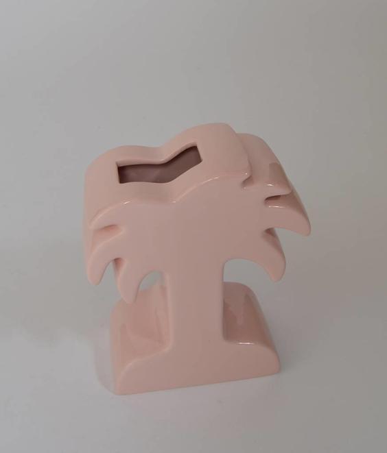 Stussy Stussy Palm Ceramic Vase Pink