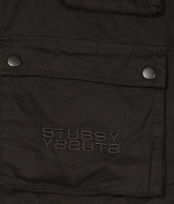Stussy Stussy Mason Utility Vest Black
