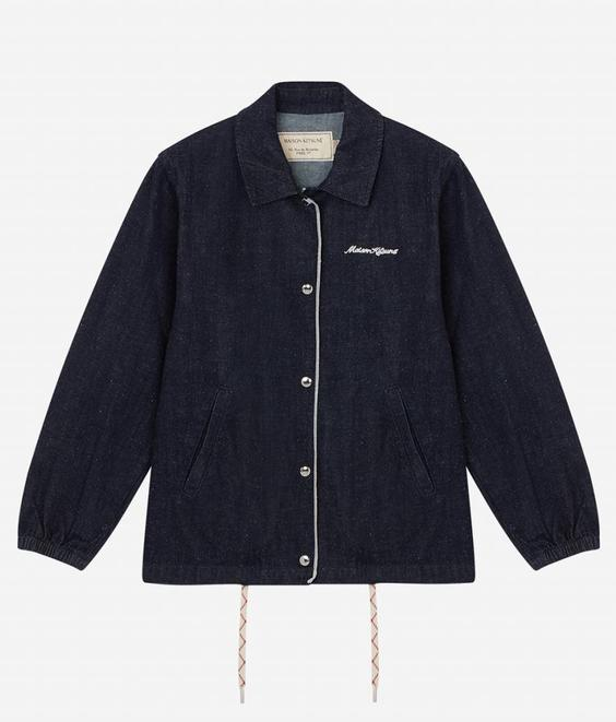 Maison Kitsune Maison Kitsune Denim Bertil Jacket