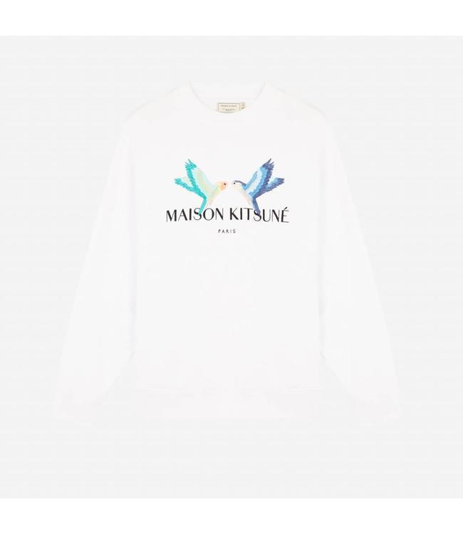 Maison Kitsune Maison Kitsune Sweatshirt Lovebirds