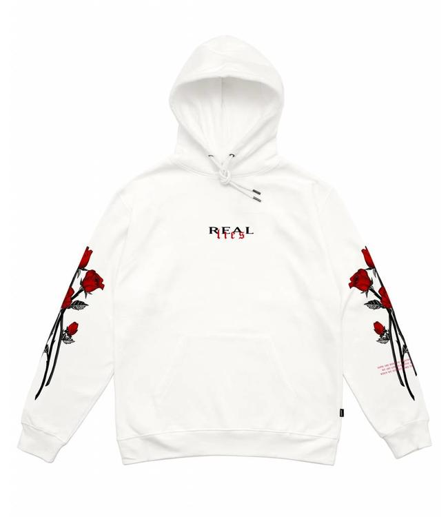 Wasted Wasted Hoodie Real Lies White