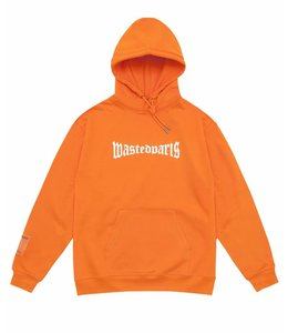 Wasted Wasted Hoodie Reflective Orange