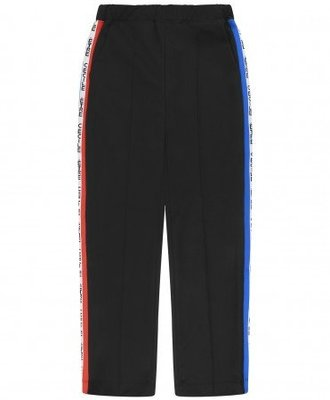 Etre Cecile Etre Cecile Cropped Retro Tape Track Pants Black