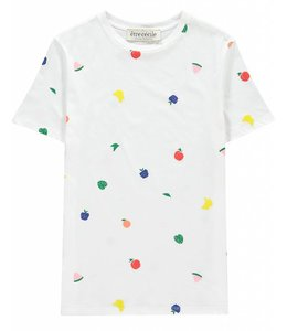Etre Cecile Etre Cecile Fruits All Over T-Shirt White