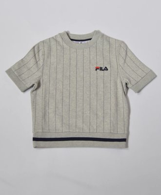 Fila Bren Short Sleeve Sweat Grey
