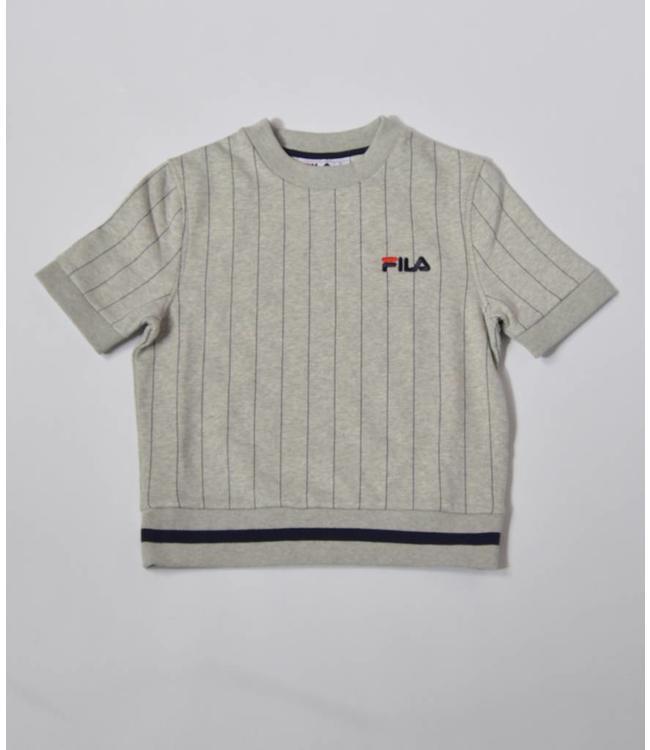 Fila Bren Short Sleeve Sweat Grey