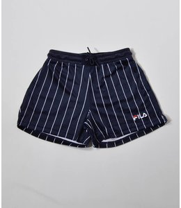 Fila Maryana Velour Pin Stripe Bottom Navy