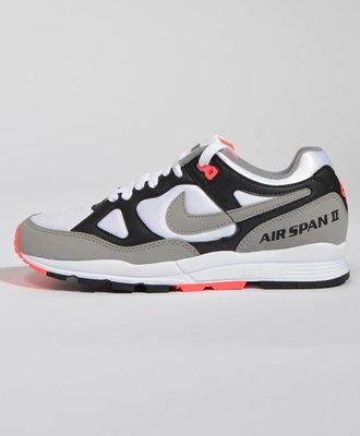 Nike Nike W Air Span II Black /  Dust - Solar Red