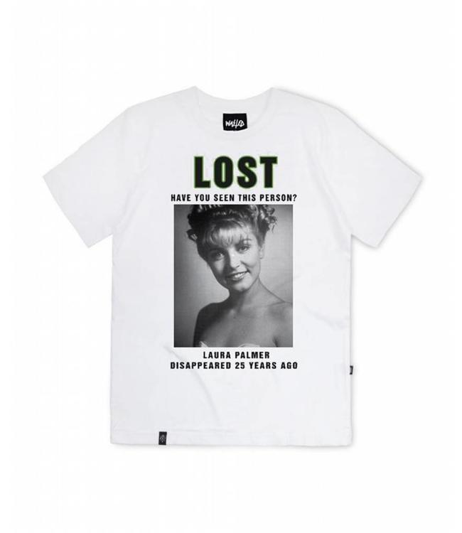 Wasted Wasted Tee Laura Palmer White