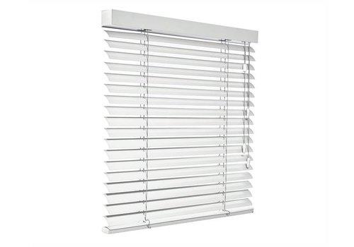 bece® Horizontale jaloezieën aluminium. Kleur A5200 grijswit