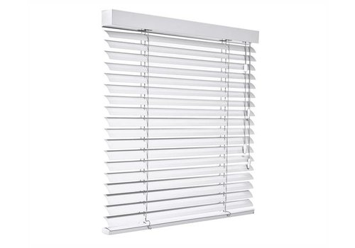 bece® Horizontale jaloezieën aluminium. Kleur A5206 lichtgrijs