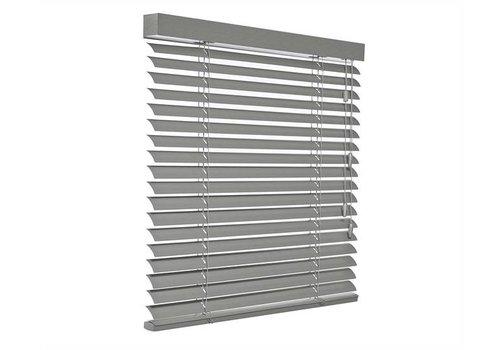 bece® Horizontale jaloezieën aluminium. Kleur C5227 zilvergrijs