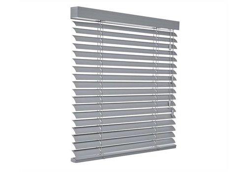 bece® Horizontale jaloezieën aluminium. Kleur C5233 zilvergrijs