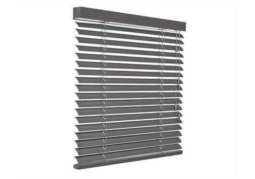 bece® Horizontale jaloezieën aluminium. Kleur B5238 leigrijs