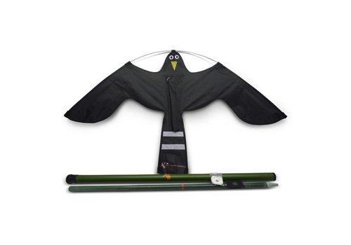Ketrop Black Hawk Kite vogelverschrikker 10 meter