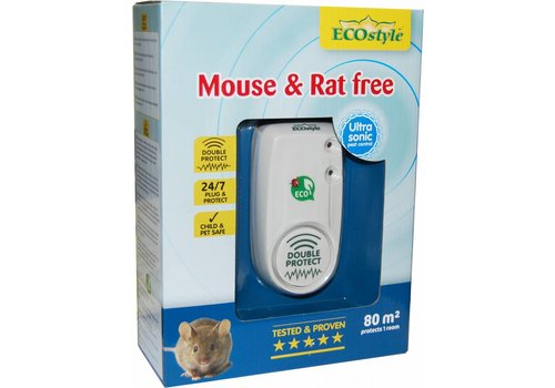 ECOstyle Mouse & Rat free double protect 80