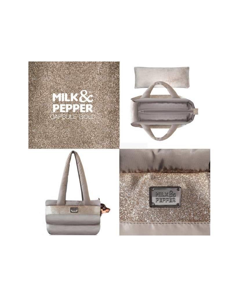 Milk & Pepper Dog carrier Milk & Pepper gold