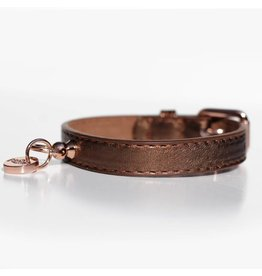 Milk & Pepper Hundehalsband Shine Copper Bronze Metallic Milk & Pepper