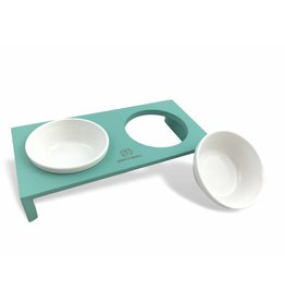 SIMPLY SMALL Feeding bowl - turquoise