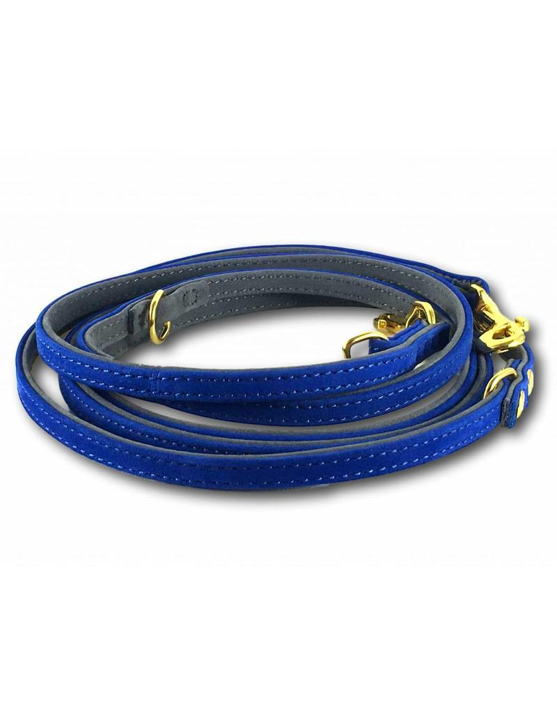SIMPLY SMALL Lederleine - Royal Blau - SIMPLY SMALL