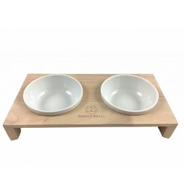 SIMPLY SMALL Feeding bowl - Ash - SIMPLY SMALL