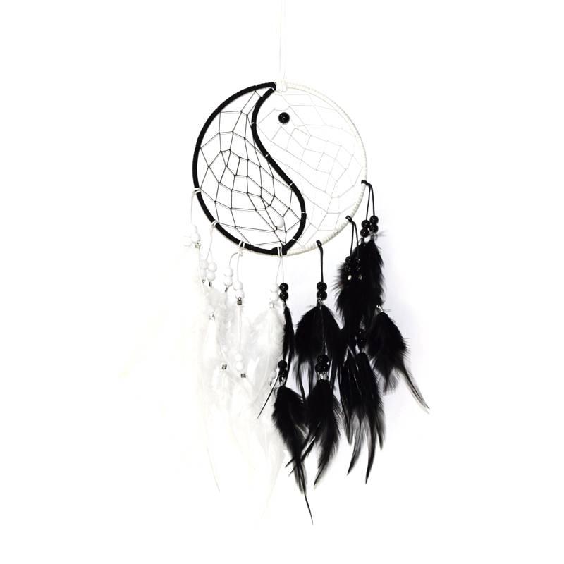 Yin en Yang dromenvanger met 1 ring