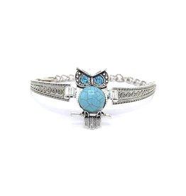 Bohemian armband Owl