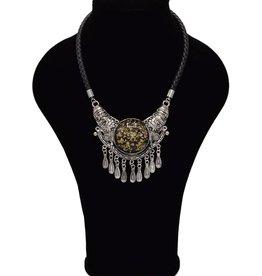 Stoere Bohemian halsketting
