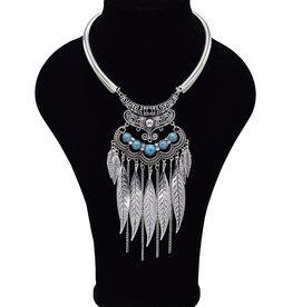 Sierlijke Bohemian halsketting