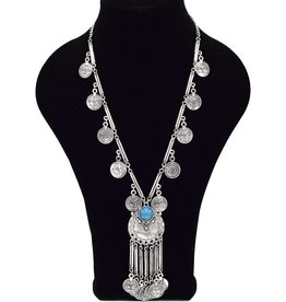 Elegante Bohemian halsketting
