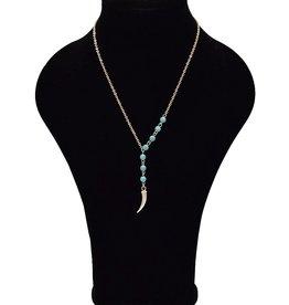 Vintage halsketting turquoise
