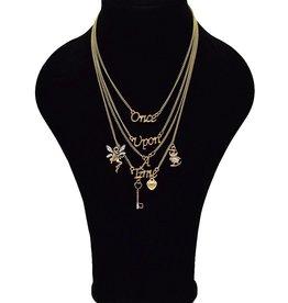 Multilayer Vintage halsketting met bedels