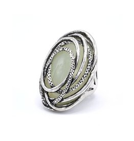Statement Vintage ring opaal