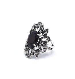 Bloemvorm Vintage ring