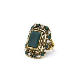 Groene Vintage ring