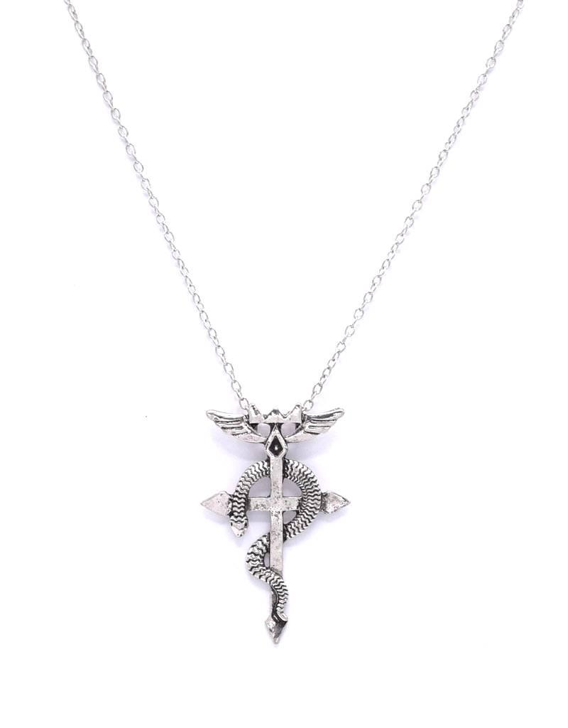 Halsketting Esculaap pendant