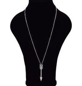 Lange halsketting met pijl